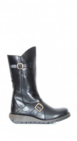 FLY LONDON Mes 2 Boot Rug Leather Black