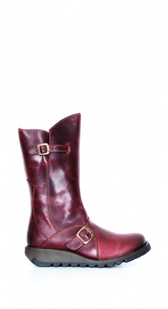 FLY LONDON Mes 2 Boot Rug Leather Purple
