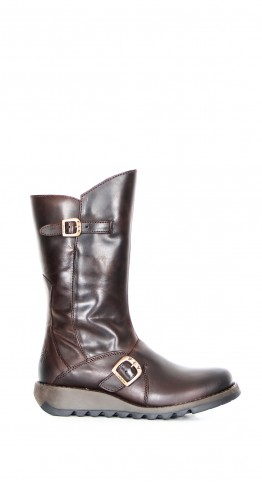 FLY LONDON Mes 2 Boot Rug Leather Brown