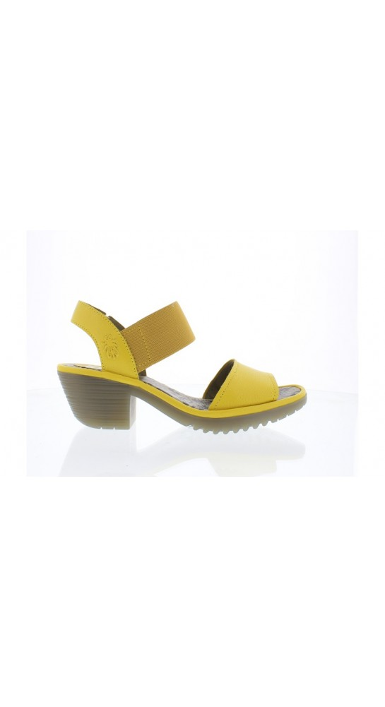 FLY LONDON WOST074FLY Slip-On Strappy Sandal Bright Yellow