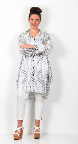Grizas Silk Bamboo Shirt White