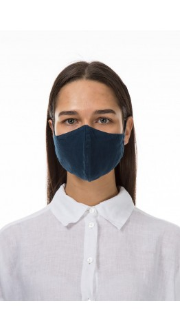 Grizas 3 Pack Linen Protective Face Masks Navy, Black, Iron, Free UK Delivery!