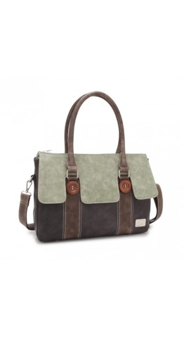 Hi-Di-Hi Atlas Bag Green/Dark Grey