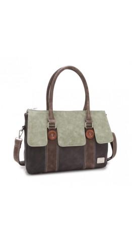 Hi-Di-Hi Atlas Bag Green/Dark Grey