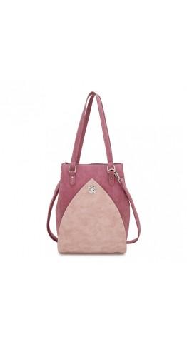 Hi-Di-Hi Shoulder Bag Heather Red Pink