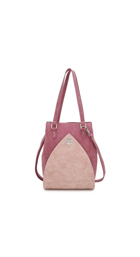 Hi-Di-Hi Shoulder Bag Heather Red Pink