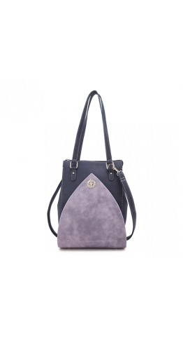 Hi-Di-Hi Shoulder Bag Heather Blue Lilac