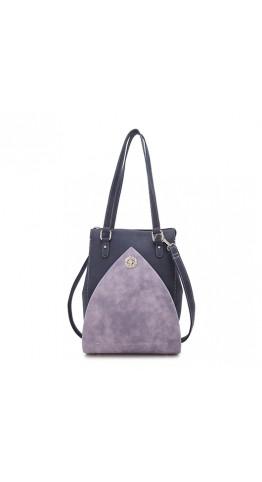 Hi-Di-Hi Shoulder Bag Heather Blue Lilac