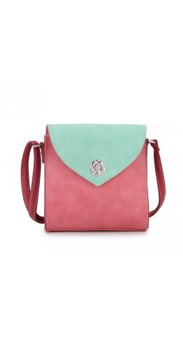 Hi-Di-Hi Cross Body Bag Love In A Mist Red Mint