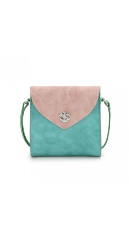Hi-Di-Hi Cross Body Bag Love In A Mist Aqua