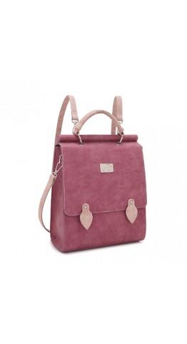 Hi-Di-Hi Lavender Backpack/Handbag Red Pink