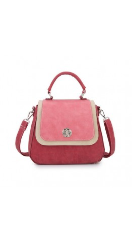 Hi-Di-Hi Hand Bag Poppy Red Pink