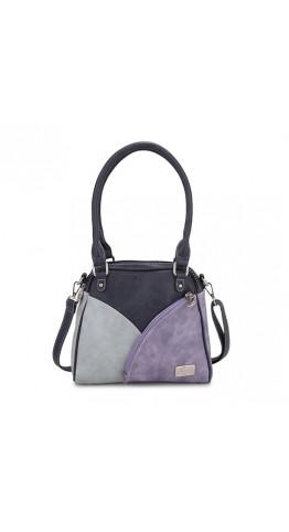 Hi-Di-Hi Hand Bag Zinnia Blue Lilac