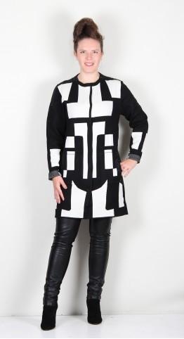 Icona Luxurious Knit Jacket Black