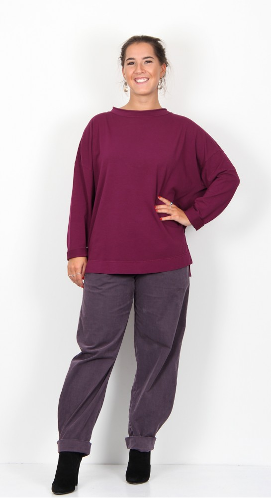 ISCHIKO Clothing Pullover Plateau 901 Orchid