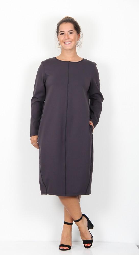 ISCHIKO Clothing Dress Ismaila 901 Graphite