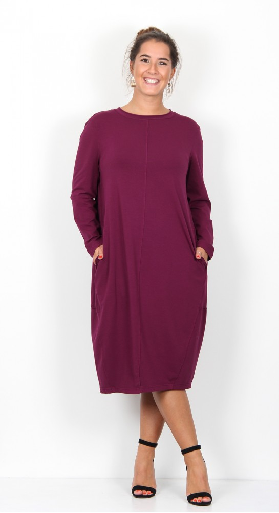 ISCHIKO Clothing Dress Monod 905 Orchid