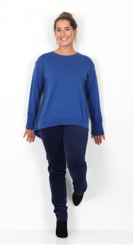 ISCHIKO Clothing Pullover Lamine 909 Indigo