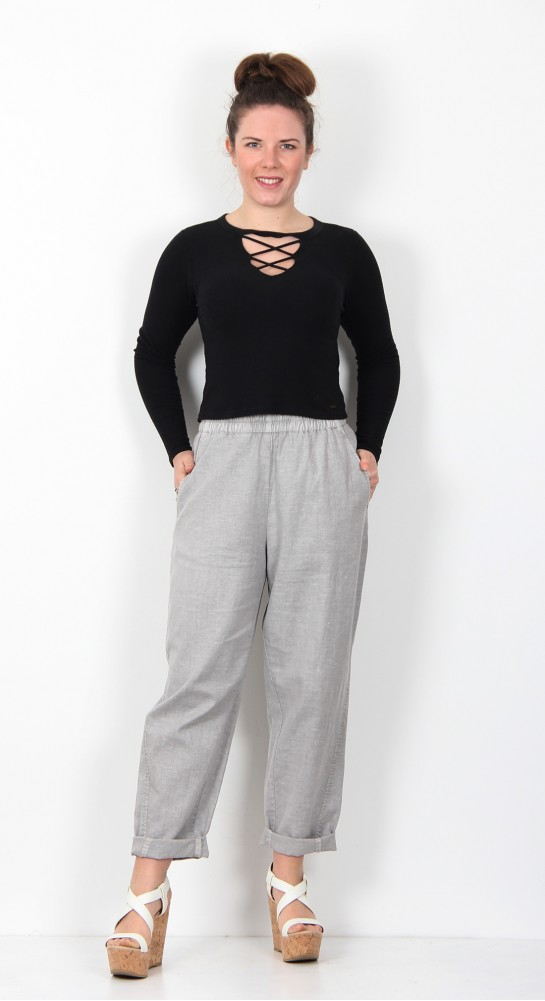Ischiko Clothing Trousers Chilie 002 Silver