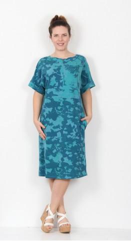 Ischiko Clothing Dress Dulcie 001 Turquiose