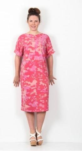Ischiko Clothing Dress Dulcie 001 Dahlia