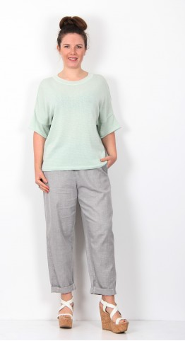 Ischiko Clothing Pullover Melrosa 011 Agave