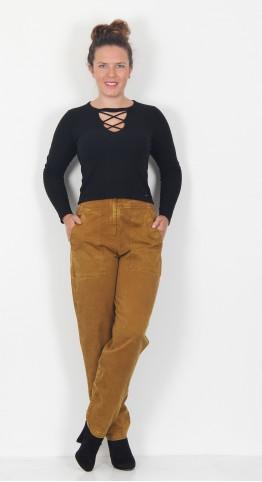 Ischiko Clothing Trousers Asami 005 Bronze