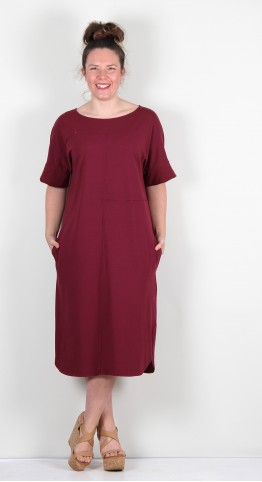 ISCHIKO Clothing Dress Gasira 104 Ruby