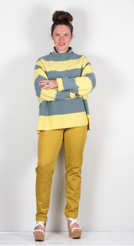 ISCHIKO Clothing Pullover Lilani 105 Pineapple