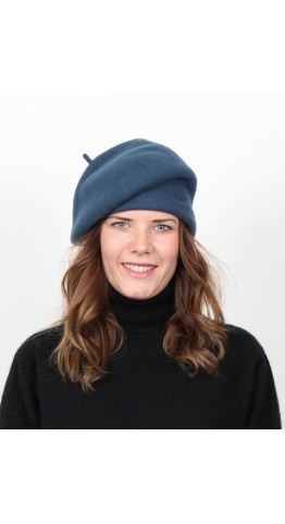 Kopka Felix Woollen Roll Up Beret Teal