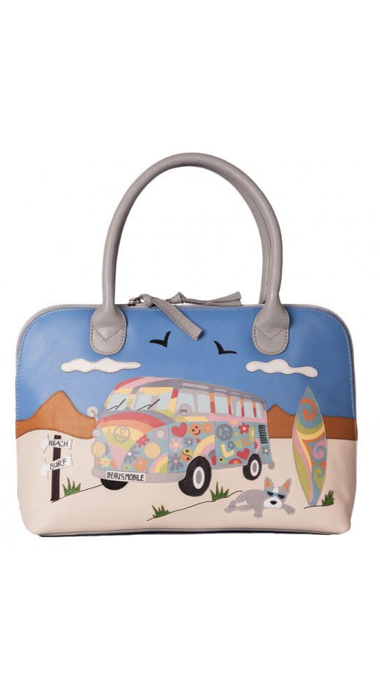 Mala Leather Beau's Bus Grab Bag