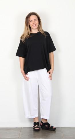 Mama B Brezza Tee Shirt Black