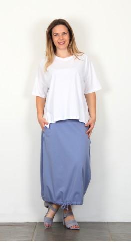 Mama B Brezza Tee Shirt White
