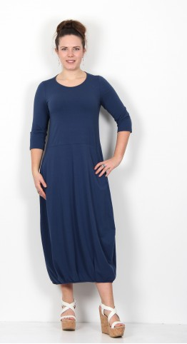 Mama B Boro Dress Blue