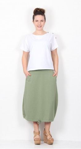 Mama B Florida Skirt Aloe