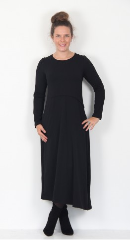 Mama B Daino Dress Black