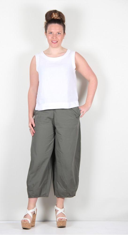 Mama B Pino P Cropped Pant Thyme