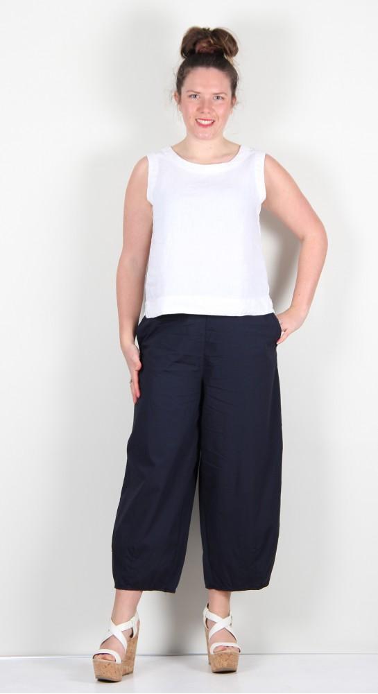 Mama B Pino P Cropped Pant Blue