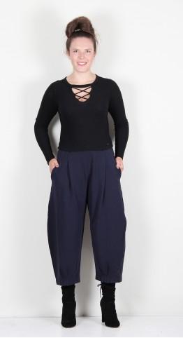 Mama B Bianco F Trouser Blue