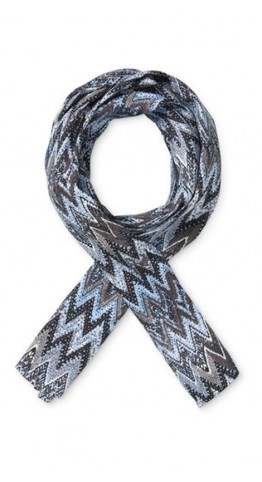 Masai Clothing Along Scarf Cloud Zigzag