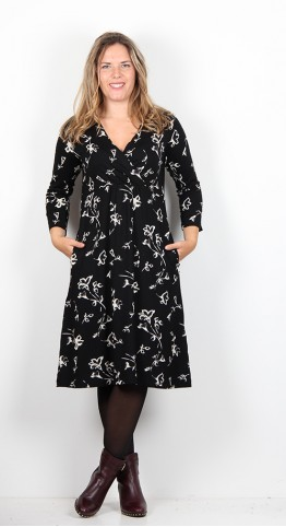 Masai Clothing Ninetta Dress Black