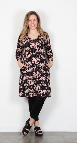 Masai Clothing Gerlinda Tunic Rose Tan