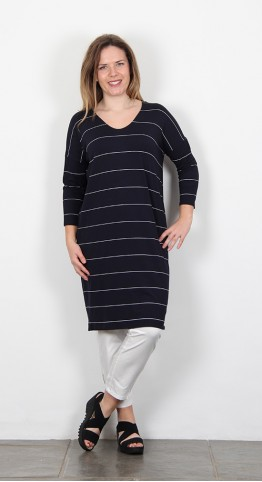Masai Clothing Nebine Dress Navy