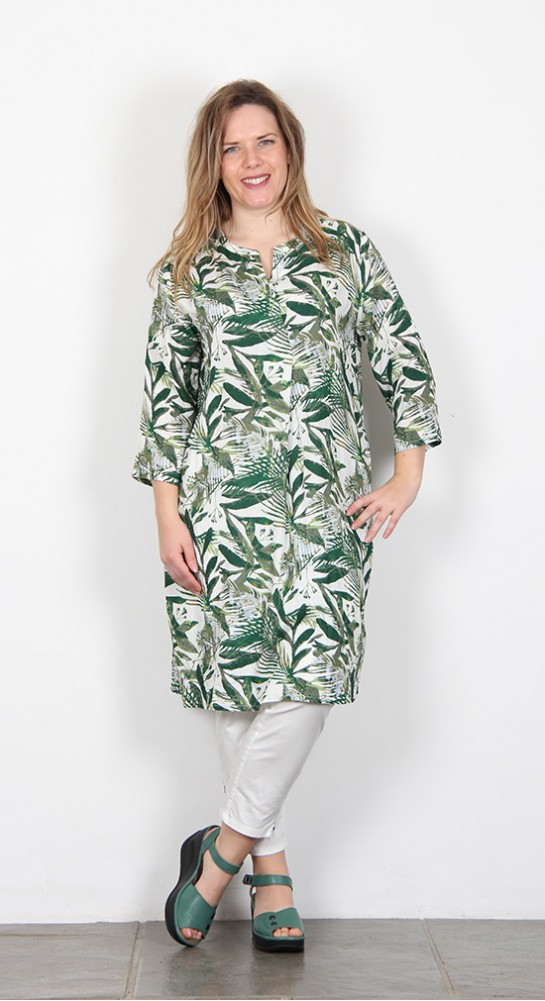 Masai Clothing Natalia Dress Amazone Leaf