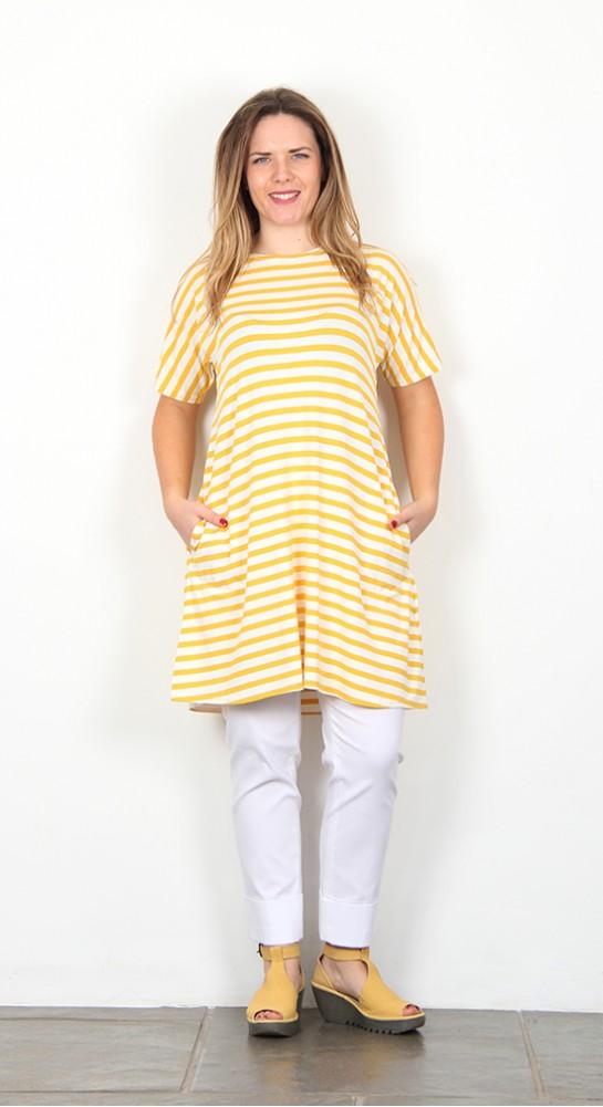 Masai Clothing Gertie Tunic Sunshine