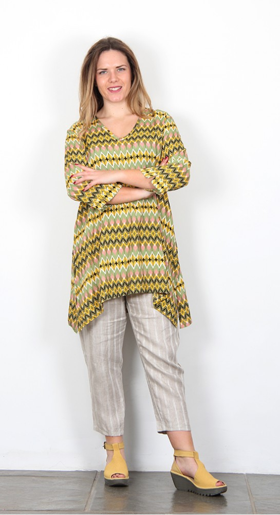 Masai Clothing Galini Tunic Sunshine