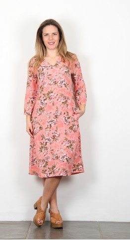 Masai Clothing Nada Dress Blush