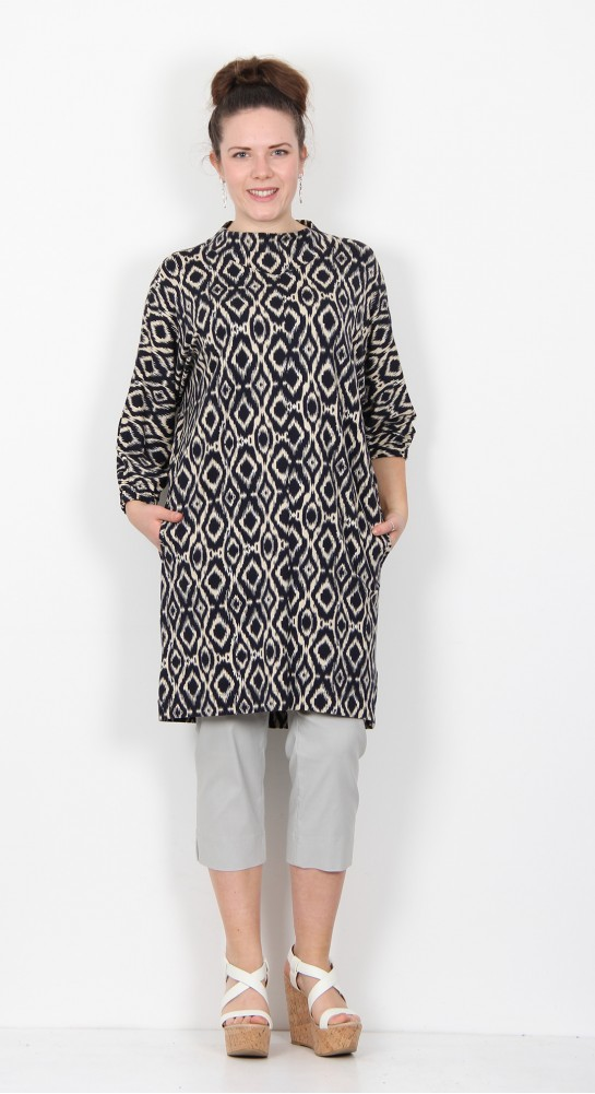 Masai Clothing Glussi Tunic Navy