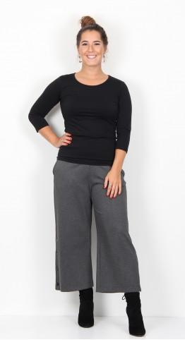 Masai Clothing Pina Culotte Dark Grey