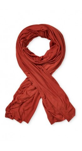 Masai Clothing Amega Scarf Red Ochre